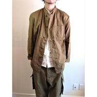 【Czech Army 50's MaoCollor Jacket DeadStock】チェコ軍 50'sマオカラー ジャケットDeadStock
