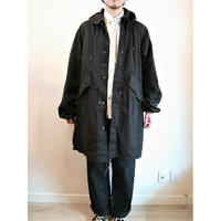 【US.Army 80's Night Desert Camo Parka Used Fabric Dyeing 】アメリカ軍 80's ナイトデザートカモパーカー Used 後染め ブラック