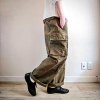 【French Army M-47 Cargo Pants Early Model DeadStock】フランス軍 M-47 カーゴパンツ 前期型 DeadStock