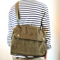 【Finland Army Canvas Shoulder Bag DeadStock】フィンランド軍キャンバスショルダーバッグ DeadStock