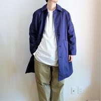 【Yarmo/ヤーモ】Cotton Twill Duster Coat  コットンツイル ダスターコート ネイビー