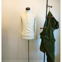 【US Army Henley neck shirt Dead stock】アメリカ軍 ヘンリーネックシャツ デッドストック US.SMALL