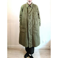 【US.Army 80's Inspector Coat DeadStock Fabric Dyeing】アメリカ軍 80's インスペクターコート DeadStock 後染め