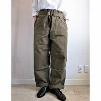 【French Army M-35 Motorcycle Pants DeadStock】フランス軍 M-35 モーターサイクルパンツ DeadStock