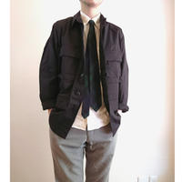 【US.Army BDU Jacket BLACK357 DeadStock】アメリカ軍 BDU ジャケット ブラック357 DeadStock