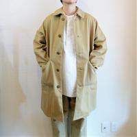 【Yarmo/ヤーモ】Cotton Twill Duster Coat  コットンツイル ダスターコート ベージュ