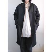 【Massaua/マッサワ】デニム ワークコート ブラック