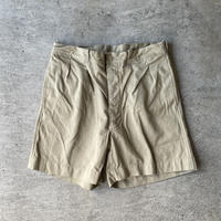 """DEADSTOCK """" 1950-60's French Army M-52 Chino Shorts """""""