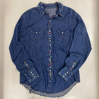 "SEVEN BY SEVEN "" REWORK WESTERN SHIRTS """