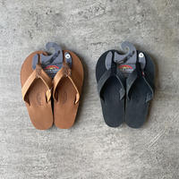 "RAINBOW SANDALS "" SINGLE LAYER LEATHER """