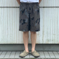 "SEVEN BY SEVEN "" RELAX SHORT PANTS "" Paint Pattern Jacquard"