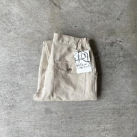 "Willow Pants "" P-008 "" DEADSTOCK FABRIC Linen"