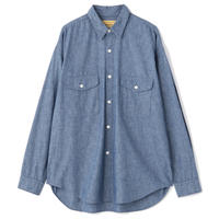 "SEVEN BY SEVEN "" TUCK SHIRTS "" Chambray"