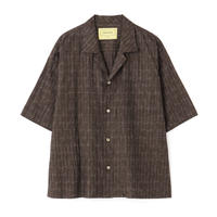 """SEVEN BY SEVEN """" OPEN COLLAR SHIRTS S/S """" Splashed pattern"""