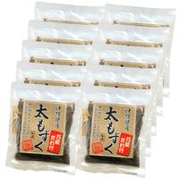 沖縄県産【養殖】太もずく 250g「タレ付き」 10袋セット (AmazonPay全品対応)
