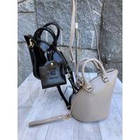 【マスクケース付き】mini MOUSE BAG エナメルレザーショルダーバッグ