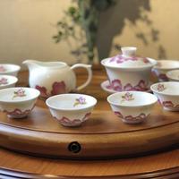 CS105 茶器「花開富貴」