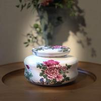 CG200  茶罐2個セット「天香国色」