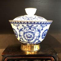 1688-2 青花磁蓋椀