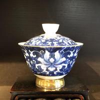 1688-4 青花磁蓋椀