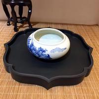 CB3288-5  茶盤(硯製)