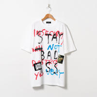 Hand Painted T-sh / White / No.155