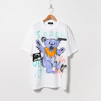 Hand Painted T-sh / White / No.122