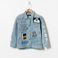 Custom Denim Jacket / No.2