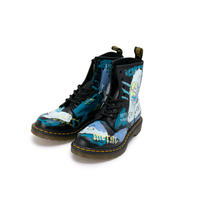Hand Painted Leather Boots / UK:5 / No.1