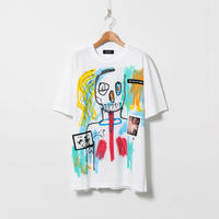 Hand Painted T-sh / White / No.137