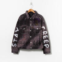 Custom Denim Jacket / No.4 / Black