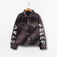 Custom Denim Jacket / No.4 / Black