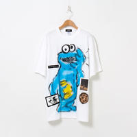 Hand Painted T-sh / White / No.29