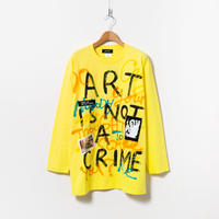 Hand Painted LS Tee / No.6