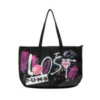 Real Painted Tote Bag / No.1