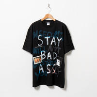 Hand Painted T-sh / Black / No.57