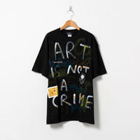Hand Painted T-sh / Black / No.105