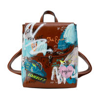 Real Painted Backpack / No.2