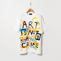 Hand Painted T-sh / White / No.53