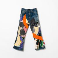 Denim Pants / Mixed Media / No.2