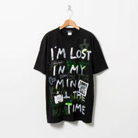 Hand Painted T-sh / Black / No.56