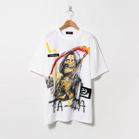 Hand Painted T-sh / White / No.121