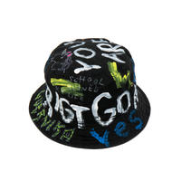 Hand Painted Hat / No.1