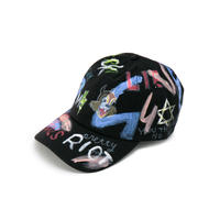 Hand Painted Cap / No.17