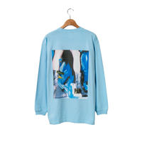 Back Photo LS Tee / Blue