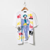 Hand Painted T-sh / White / No.130