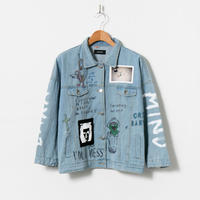 Custom Denim Jacket / No.1