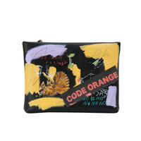 Real Painted Clutch Bag / No.2