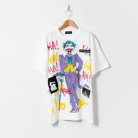 Hand Painted T-sh / White / No.81