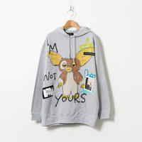 Hand Painted Over Hoody / Gray / No.40